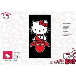 Serviette de bain Hello Kitty  - 140 x 70 cm
