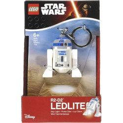 Porte-clés LED Disney Star Wars - R2D2 - Lego - LG0KE21