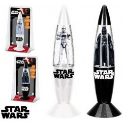Lampe Led à paillettes Disney Star wars Trooper - 18 cm - 401817B