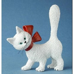 Figurine La Minette So Cute! (Blanche) - de Dubout