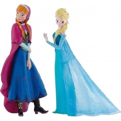 Lot de 2 figurines Disney -...