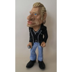 Figurine caricature Johnny...