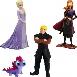 Lot de 4 Figurines Disney...