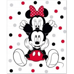 Plaid Polaire Disney Minnie...