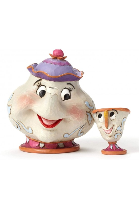 Figurine Mrs Potts and Chip...
